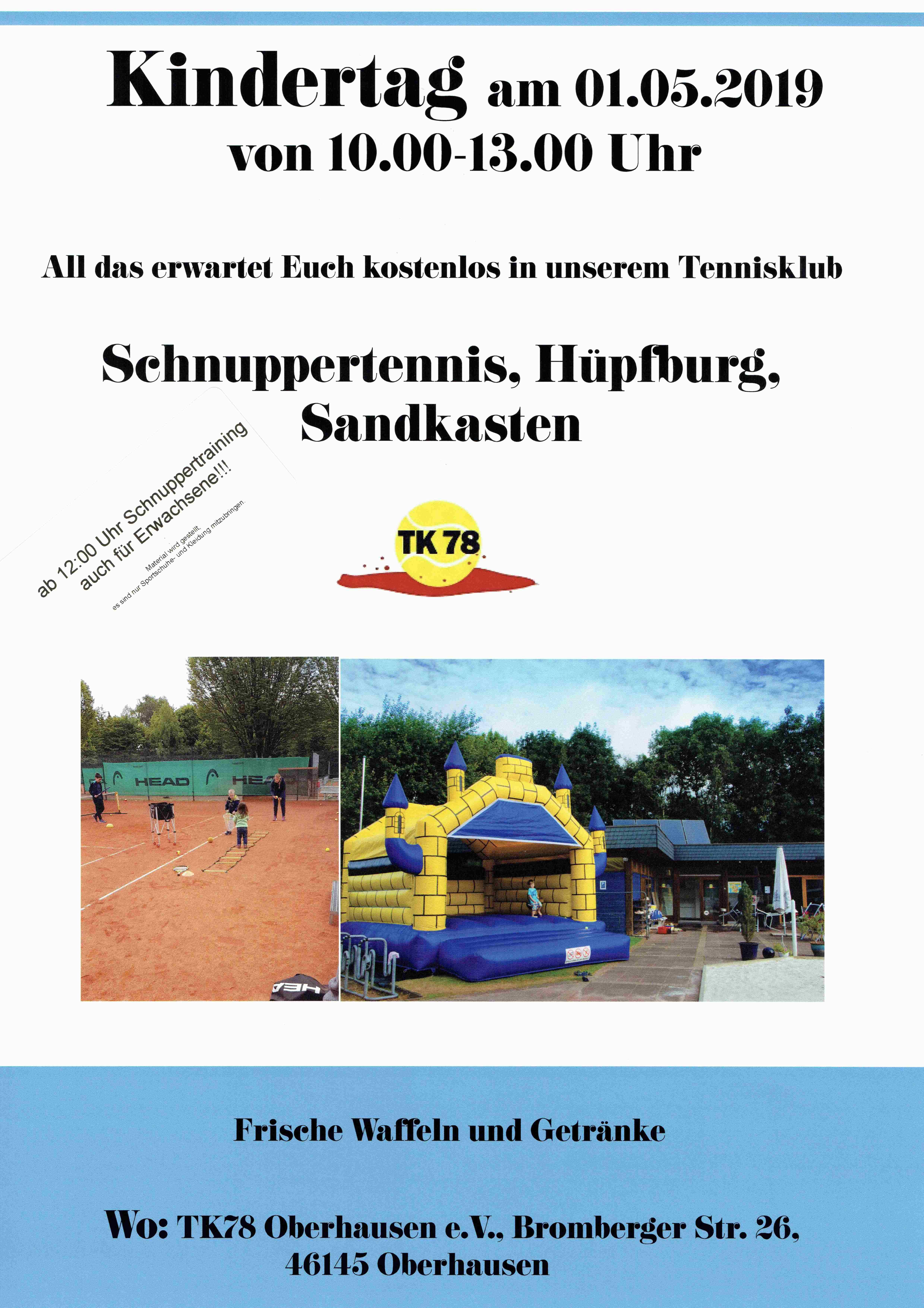 Schnupperkurs 01.05.2019
